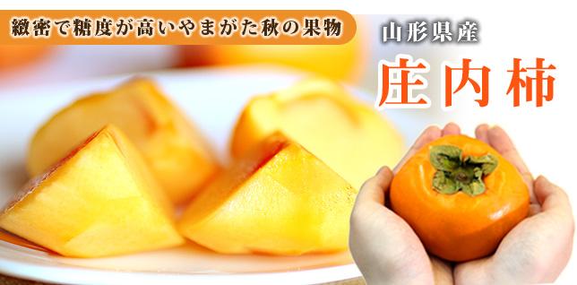 山形秋の味覚庄内柿